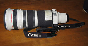 Canon 500mm Lens.  f:4 USM IS I