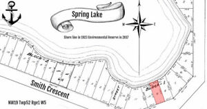 Building Lot on Spring Lake Environmental Reserve with Day Cabin