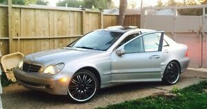 (Winter special)2005 Mercedes Benz c320