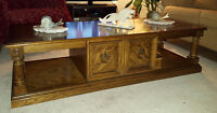 Vintage solid Oak coffee table-great condition