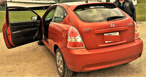 2007 Hyundai Accent GS Coupe (2 door)  (GOING OVERSEAS)