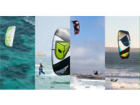 Kite surfing package. Kite +board+harness