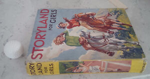 Storyland For Girls, 1936, Illustrated