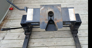 Reese sliding fifth wheel hitch