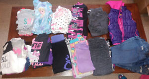 Girls Size 4 Winter Clothing - 47 pieces