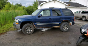 2003 Chevrolet Tahoe low kms under 100,000km
