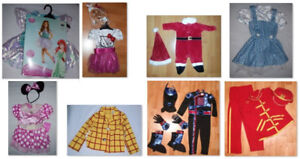Kids Halloween Costumes/Dress-Up (Size 2T)