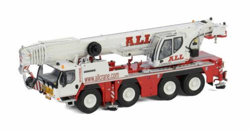 WSI 51-2052 Liebherr LTM1090-4.2 4-Axle Mobile Crane - ALL CRANE 1/50 Diecast MB