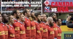 1 PREMIUM TICKET TO CANADA VS USA RUGBY GAME