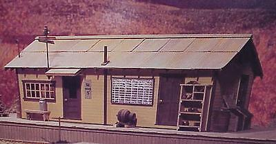Used, S SCALE/Sn3/ WISEMAN MODEL SERVICES WEST SIDE LUMBER CO DISPATCHER'S OFFICE KIT  for sale  Shipping to India