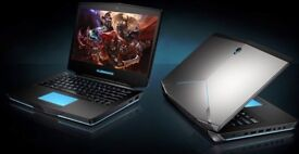 last DELL ALIENWARE 14 M14X INTEL I7 4TH GEN 4700MQ 8GB RAM 750GB HDD GAMING LAPTOP