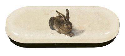 Fridolin Brillenetui Feldhase Albrecht Dürer Hase Motiv Brillen Etui NEU