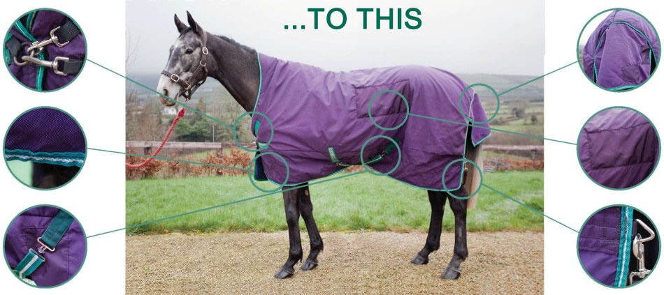 Horse Rug Cleaning And Repair Steam Cleaned Washed Using Non Detergent Equine Cleaner