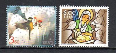 ESTONIA MNH 2003 SG453-454 CHRISTMAS