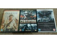 3x History Movies Dvds