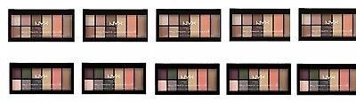 10 NYX The Go-To LA Palettes Indispensable 5 Wanderlust & 5 Bon Voyage NEW!!