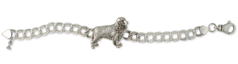 Springer Spaniel Bracelet Jewelry Sterling Silver Handmade Dog Bracelet SS3-BR