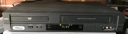 NEC DVD VCR Combo Video Cassette Recorder VHS Player