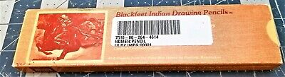 Box Of 12 Blackfeet Indian Drawing Pencils Military Issue 041-16 H C3s5