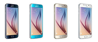 Samsung Galaxy S6 Sm G920p   32Gb   Sapphire Gold White Boost Mobile Sprint New