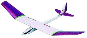 PILOT RC airplane glider Lavender Laser Cut Balsa Kit 12158