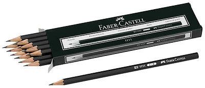 FABER-CASTELL 1111 Bleistifte Härtegrad weich 2B oder B 12 24 oder 36