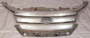 FRONT GRILL -  Chrome Grille Complete Assembly for 2010 to 2012 FORD FUSION SEDAN SEL 3.0L V6 DOHC 24V $250