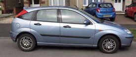 Ford Focus Hatchback 2004 - Metallic Blue 1596cc - Low Mileage