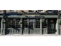 Awesome gastropub in Richmond is looking for superstar waiting staff