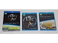 DVD FILM MOVIE BLURAY LIFE PLANET EARTH 9 DISC SET BLU-RAY BBC EARTH SERIES HD