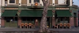 Waiter/Waitress/Floor/Bar staff for The Roebuck Chiswick - busy gastro pub