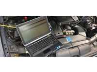 Mobile BMW diagnostics, check engine light delete