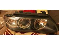 BMW X5 Le Mans 2006 XENON Headlight drivers side will fit facelift E53 2004-2006 complete
