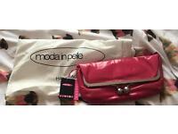 Moda in Pelle clutch bag - Brand New