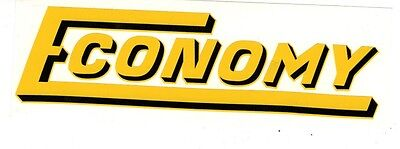 Economy Gas Engine Motor Hit Miss Decal Briggs Stratton Sears