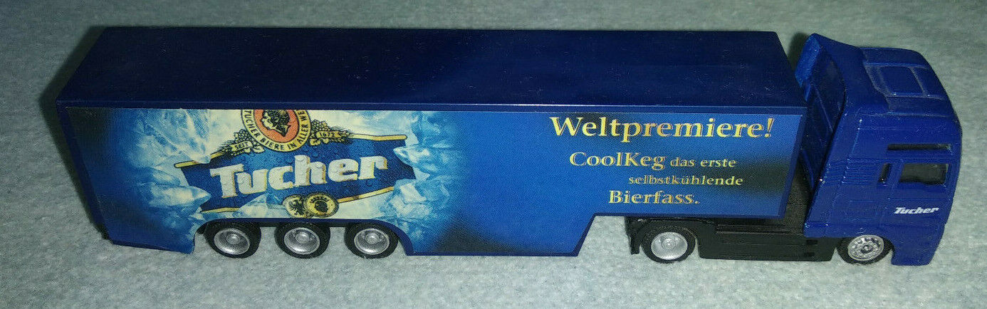 Tucher CoolKeg Truck MAN Werbetruck von Wörlein - ca. 18 cm
