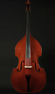 French hand-carved Emil Gillet upright bass NEW PRICE
