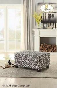 MA10 4501-F2 FABRIC OTTOMAN THE BEST DESIGN EVER (BF-231)