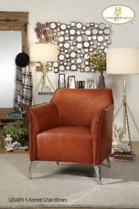 Leather Accent Chair at low Price (BD-2313)