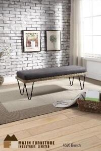MA10 - 4526 Bench with an upholstered seat,in Toronto,Lowest Price in Toronto,Huge Furniture Sale in Toronto (BD-1414)