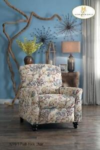 Floral Print Fabric Recliner Chair on Sale (BD-2431)