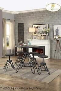 Adjustable Counter-height Dining Set - Furniture Sale (BD-2375)
