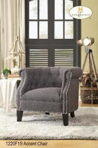 Accent Chair with Nailheads - Cheap Price Deal (BD-2309)
