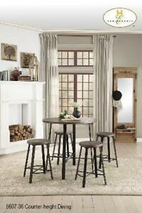 5 PC Pub- Height Dining Set - Barrie Furniture Sale (BD-2379)