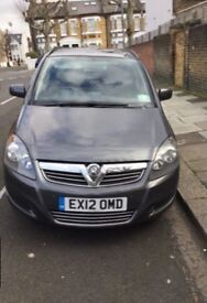 Vauxhall Zafira, 1.7, Eco Flex, 74k Very Low Genuine Mileage