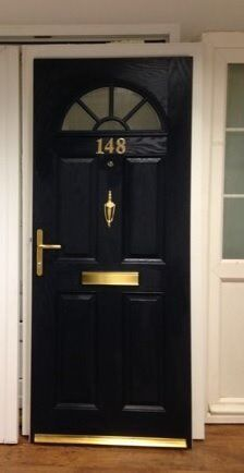 Navy Blue Composite Front Door For Sale At Mk Double