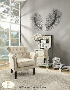 Accent Script Fabric Chair (MA341)