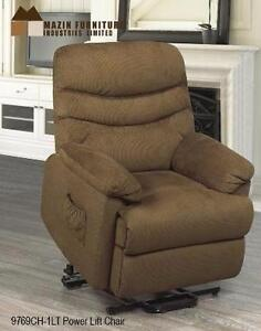 LIFT CHAIR IN A KHAKI FABRIC MODEL 9769KH $767.00SAVE $432