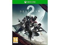 Destiny 2 for Xbox one ( played once )
