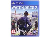 Brand new ps4 game watch dogs
